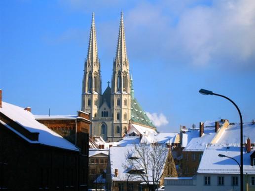 Außenansicht Peterskirche