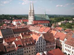 Peterskirche und Untermarkt vom Rathausturm