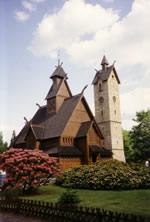 Kirche Wang in Krummhübel
