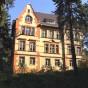 Außenansicht der Ferienwohnung in der Villa Hoffmann 4