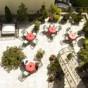 Terrasse des Hotel Europa