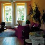 Wohnzimmer - Ferienwohnung am Wilhelmsplatz