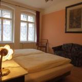 Schlafzimmer - Ferienwohnung Haus Gründerzeit - 21