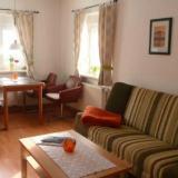 Sitzecke im Wohnzimmer - Görlitzer Ferienhaus