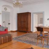 Wohnzimmer - Ferienwohnung Goldener Apfel