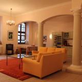 Wohnbereich - Ferienwohnung im Hallenhaus groß unten