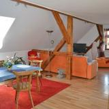 Wohnzimmer - Ferienwohnung Gäbler