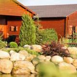 Aussenansicht Blockhütten - Reinert Ranch