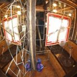 Spiegelsaaltoilette - Kulturinsel Einsiedel - Baumhaushotel: Bodelmutzens Geisterhaus
