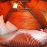 Schlafraum - Kulturinsel Einsiedel - Baumhaushotel: Modelpfutzens Wipfelgipfel