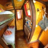 Doppelstockbett - Kulturinsel Einsiedel - Baumhaushotel: Modelpfutzens Wipfelgipfel