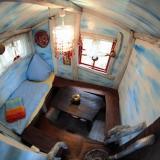Wohnraum - Kulturinsel Einsiedel - Baumhaushotel: Fionas Luftschloss