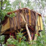 Aussenansicht - Kulturinsel Einsiedel - Baumhaushotel: Judkas Trollfamilienhaus