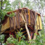 Kulturinsel Einsiedel - Baumhaushotel: Judkas Trollfamilienhaus