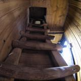 Treppe im Baumhaus - Kulturinsel Einsiedel - Baumhaushotel: Judkas Trollfamilienhaus