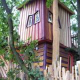 Aussenansicht - Kulturinsel Einsiedel - Baumhaushotel: Bergamos Gäste-Nest