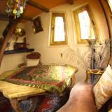 Wohnbereich - Kulturinsel Einsiedel - Baumhaushotel: Bergamos Gäste-Nest
