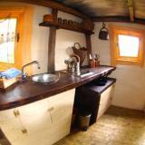 Küche - Kulturinsel Einsiedel - Baumhaushotel: Olves Baumburg