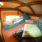 Schlafbereich - Kulturinsel Einsiedel - Baumhaushotel: Olves Baumburg