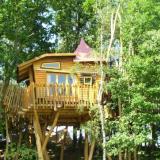 Aussenansicht - Kulturinsel Einsiedel - Baumhaushotel: Olves Baumburg