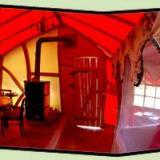 Wohnbereich - Kulturinsel Einsiedel - Baumhaushotel: InselBaumhaus