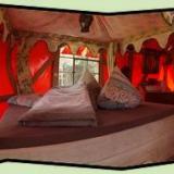 Schlafbereich - Kulturinsel Einsiedel - Baumhaushotel: InselBaumhaus