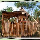 Kulturinsel Einsiedel - Baumhaushotel: Baumbett