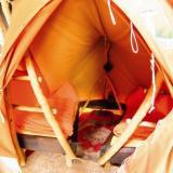 Zwei-Mann-Schlafbereich - Kulturinsel Einsiedel: Waldsiedlum