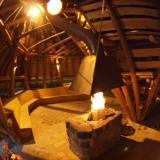 Lagerfeuer - Kulturinsel Einsiedel: Erdhaus