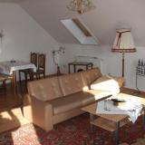 Wohnzimmer - Ferienwohnung Haus Gertrud
