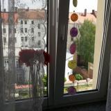 Blick in den Innenhof - Ferienwohnung Schwalbennest