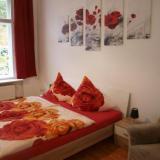 Schlafzimmer - Sylvias Ferienwohnungen, FeWo 2