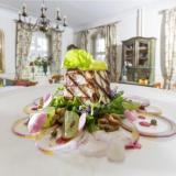 kulinarische Genüsse - Schloss Lomnitz in Jelenia Gora (Polen)