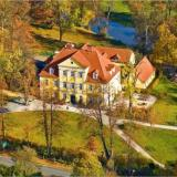 Luftbild - Schloss Lomnitz in Jelenia Gora (Polen)