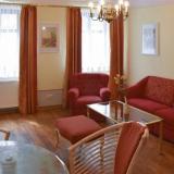 Wohnzimmer - Apartments im Haus Streibel - Barock