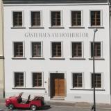 """Außenansicht - Gästehaus Zum Hothertor -  """"Schloss Friedland"""""""