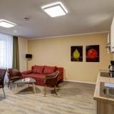 Wohn/Essbereich - Apartments am Schwibbogen - Apartment 2.1