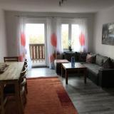 Wohnzimmer - Ferienwohnung An der weißen Mauer - Wohnung 2