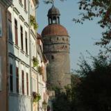 Blick auf den Nikolaiturm - Altstadtpension Zaremba