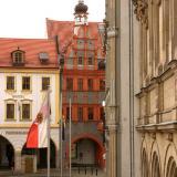 Blick auf den Untermarkt  - Ferienwohnung Altstadtzauber