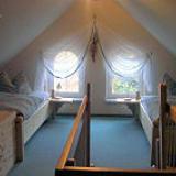 Schlafzimmer - Ferienwohnung Wiesenhof