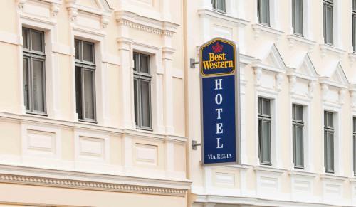 best western hotel via regia g rlitz. Black Bedroom Furniture Sets. Home Design Ideas